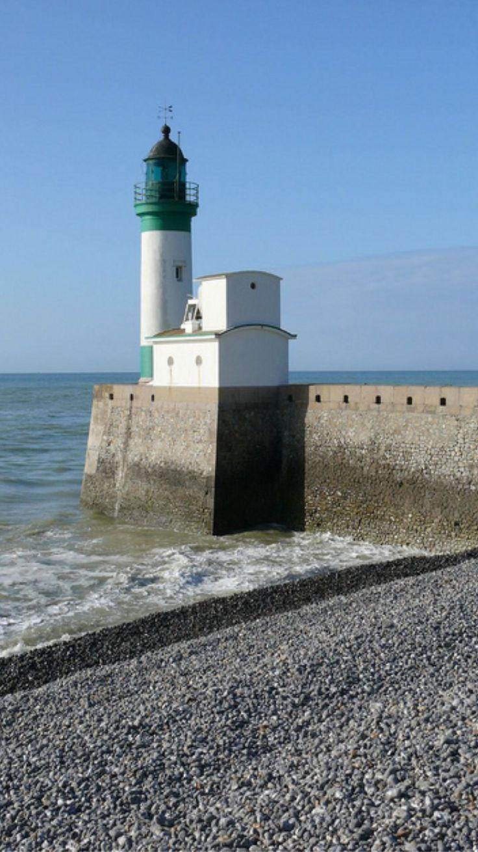 Le Tréport Lighthouse, Mers-les-Bains, Picardy, France- by normandie2005