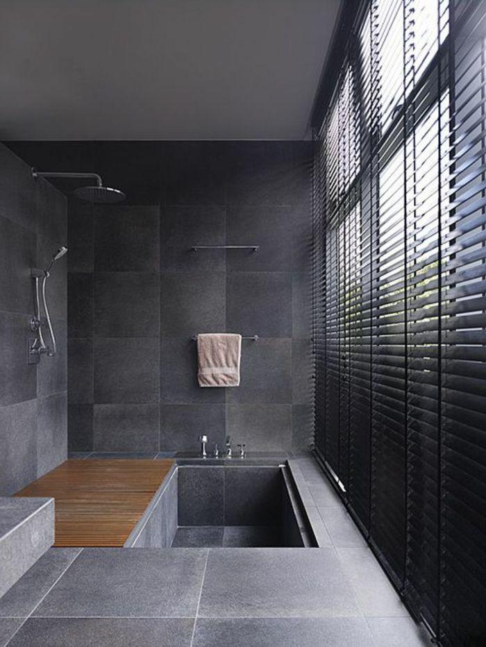 les stores v nitiens en 50 photos salle de bain. Black Bedroom Furniture Sets. Home Design Ideas