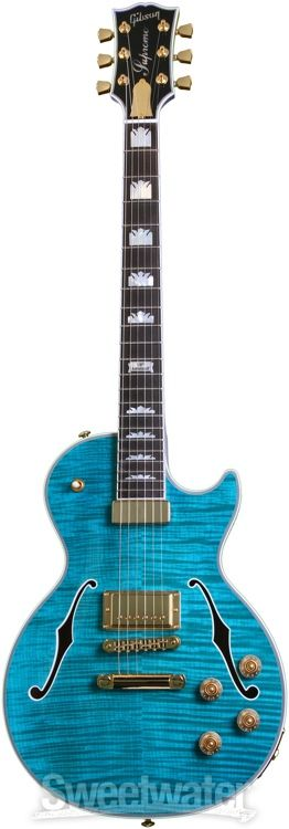 Gibson Les Paul Supreme Ocean Water (2014)