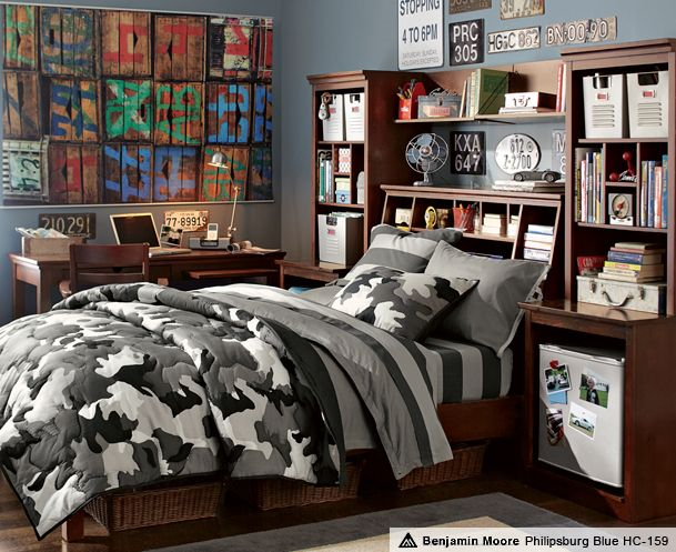 89 best teen boy bedrooms images on pinterest child room for Camouflage bedroom ideas for kids