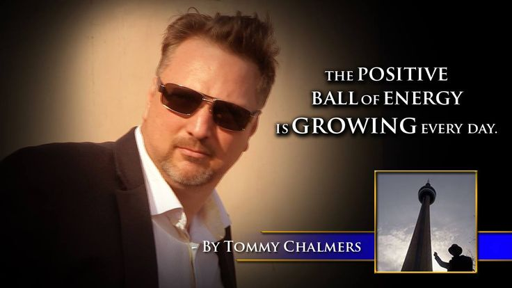 The positive ball of energy is growing everyday. -Tommy Chalmers #60SecondMillionaireTV #RevMediaUSA #MediaTeam @tracy_davison #tracy_davison #TracyDavison