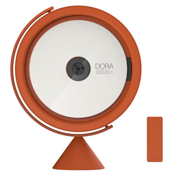 This is a nice CD player. A shame I download everything these days!    DORA CD-Player by Jeong Yong