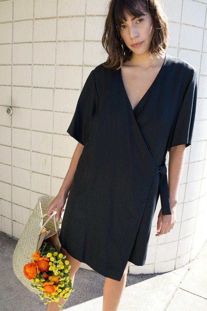 Kimono Wrap Dress | Waltz