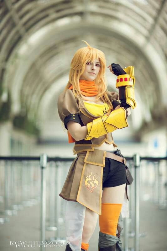 A Yang Xiao Cosplay from RWBY. I do NOT own this cosplay ...