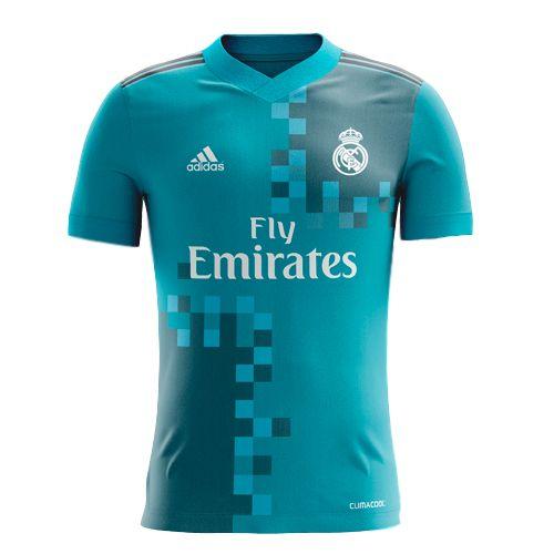 17/18 adidas Real Madrid Third Jersey