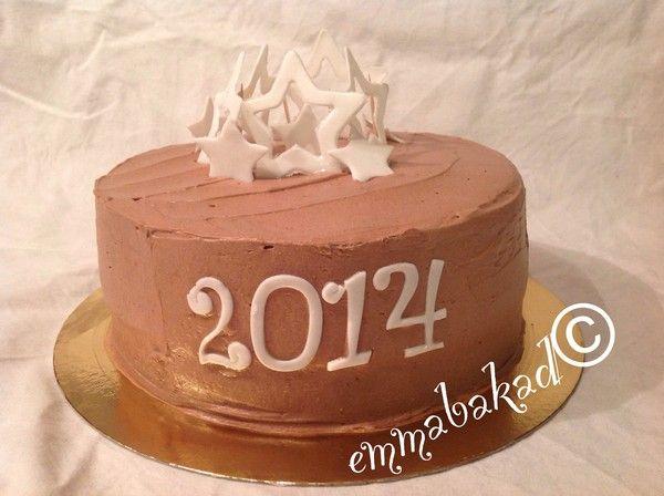 New years cake 2014 Gott nytt år, 2014!!! - emmabakad.blogg.se