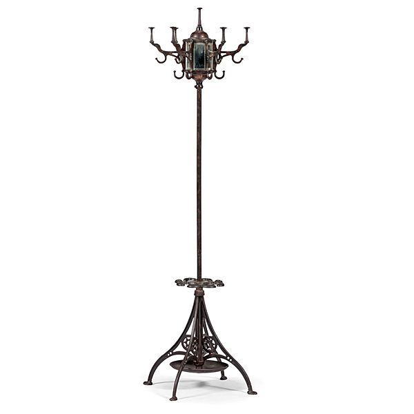 Barber Shop Cast Iron Hat, Umbrella Rack (4/12/2014 - Americana: Live Salesroom Auction)