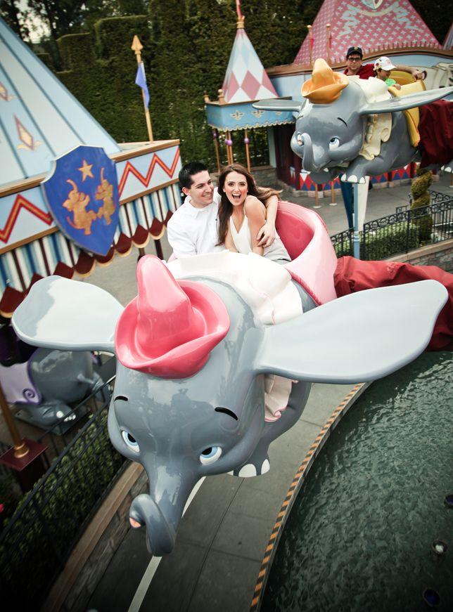 My Disney engagement photo session