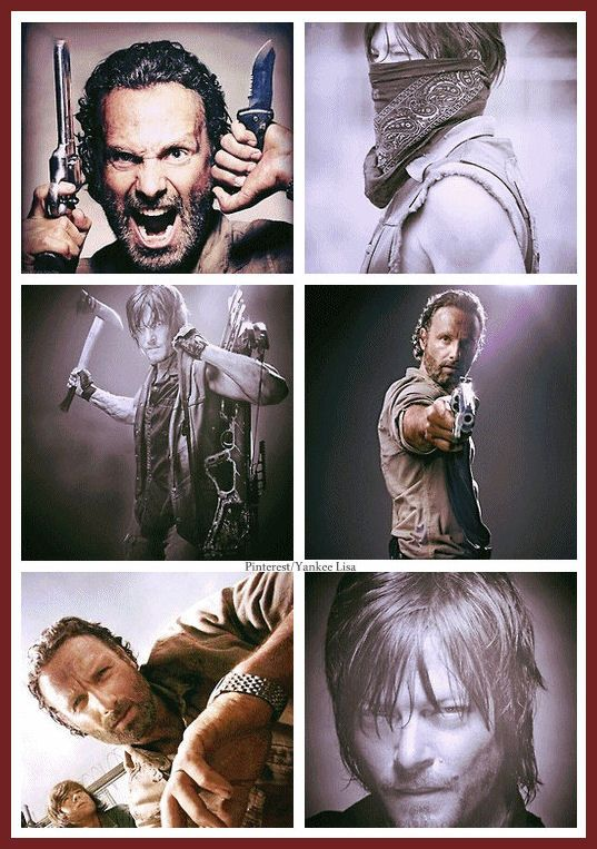 Rick Grimes and Daryl Dixon ~ The Walking Dead