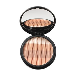 nc Bronze & Glow Powder 9g. nc Bronze & Glow Powder adds warmth to the complexion with a sun-kissed glow. With a blend of four shades, this ultra-light powder enhances contours with a luminous finish, to compliment all skin tones.
