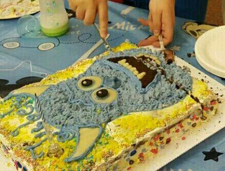Potwory i spółka tort