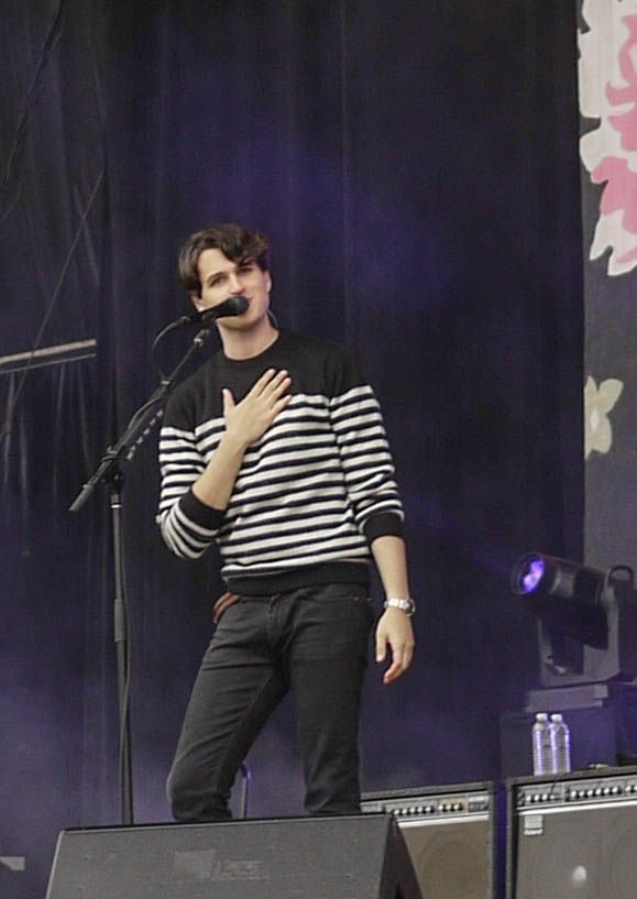 Ezra Koenig, Vampire Weekend @ Outside Lands 2013
