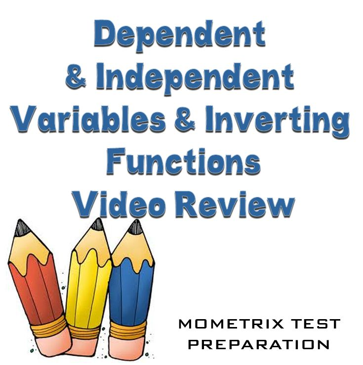 http://www.mometrix.com/academy/dependent-and-independent-variables-and-inverting-functions/  Get help understanding the basics of dependent and independent variables and inverting functions.