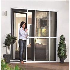 Moustiquaires portes et baie-vitrée coulissante en aluminium                                                                                                                                                                                 Plus