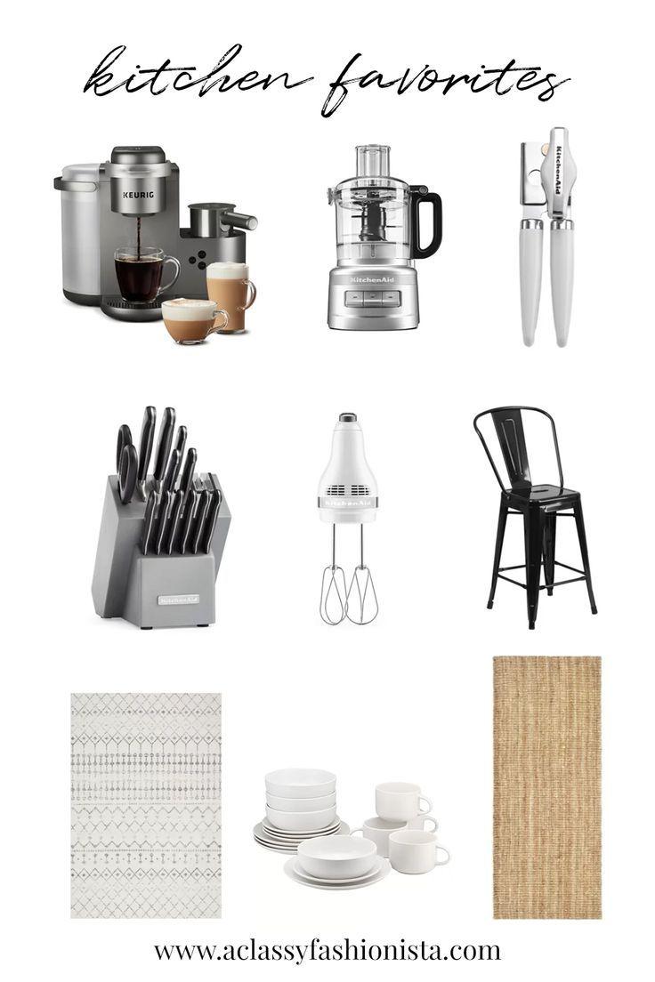 KITCHEN ESSENTIALS WISHLIST  Kitchen checklist, Kitchen