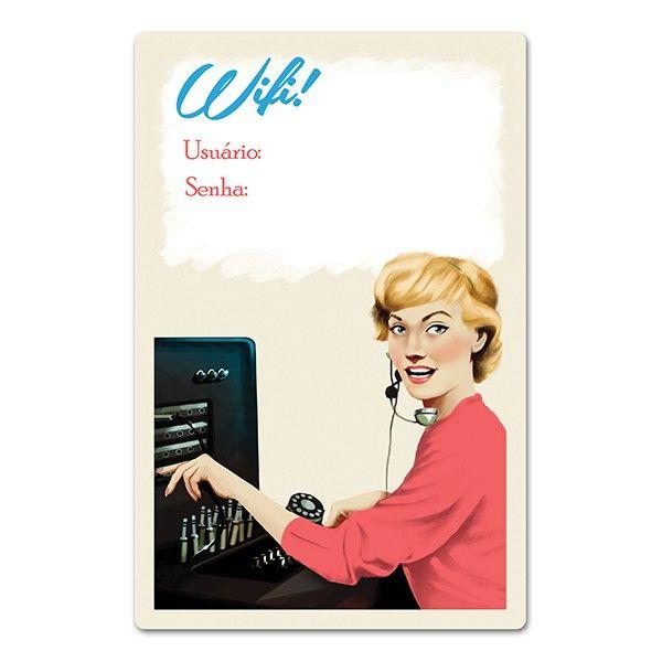 Placa Wifi Retro
