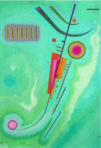 Wassily Kandinsky                                                                                                                                                      Plus