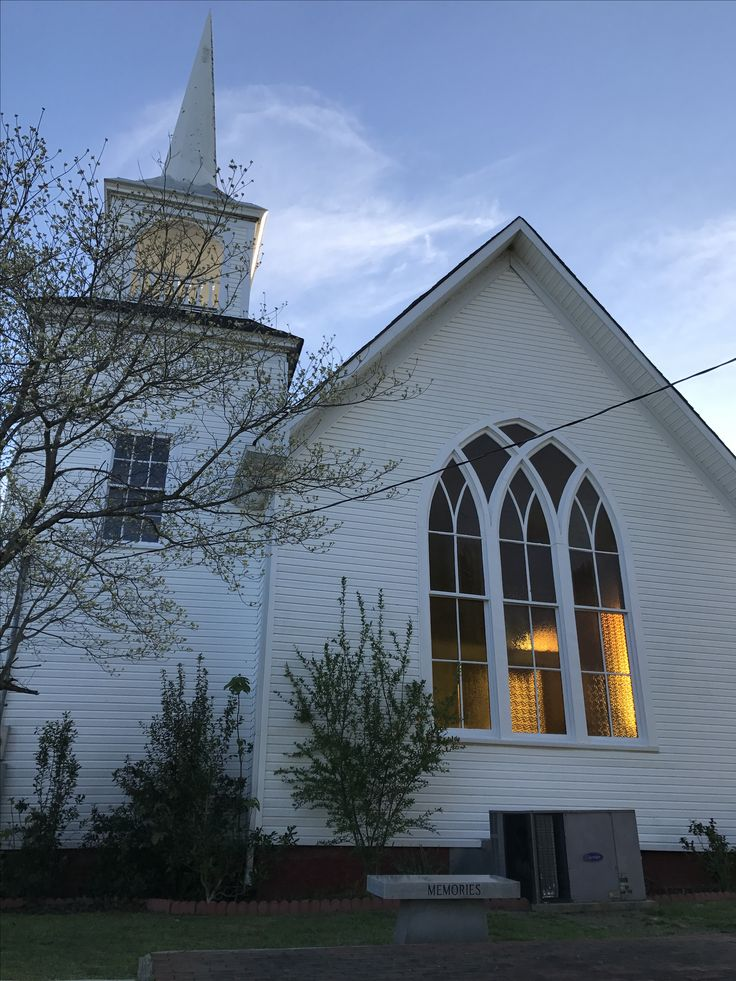 Helen Jenkins Chapel located in Thorsby, AL. The church was built by the Swedish settlers circa 1900.
