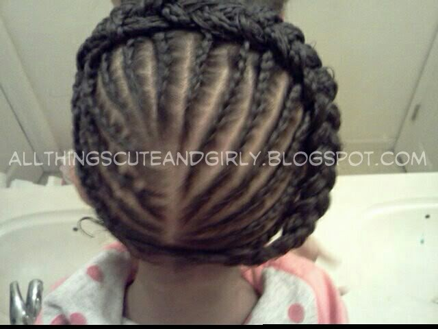 Natural Hair Braiding Styles For Kids: 17 Best Ideas About Kid Braids On Pinterest