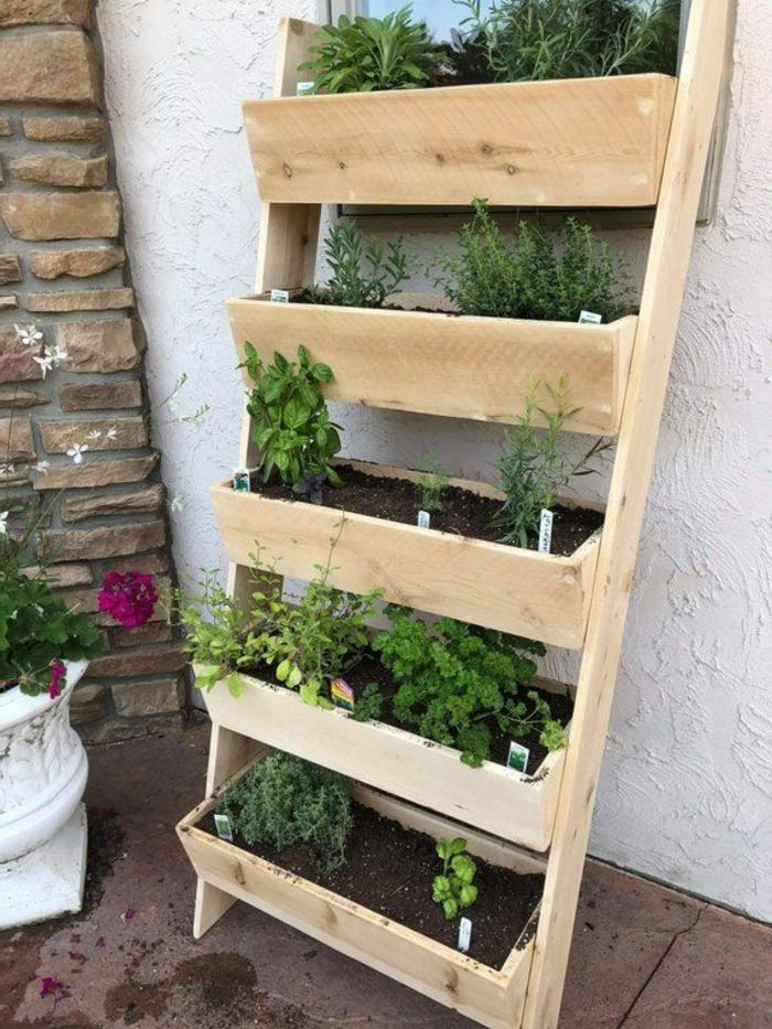 1001 Ideas De Jardin Vertical En Bonitas Imagenes Jardines Verticales Hacer Jardin Vertical Macetas De Madera