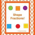 $ This packet focuses on dividing shapes (circles/squares/rectangles) into equal parts.   What is included: -display cards -game for sorting shapes  ...