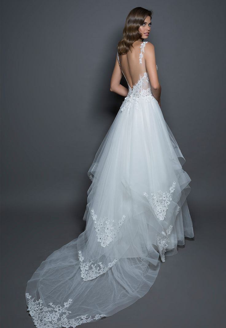 665 best WEDDING DRESSES images on Pinterest | Short wedding gowns ...