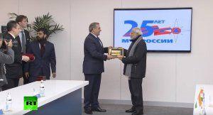Нарендра Моди посетил Национальный Центр управления в кризисных ситуациях МЧС РФ (видео)