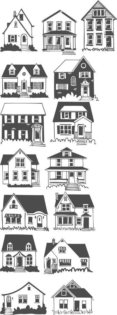 house doodles - Google Search