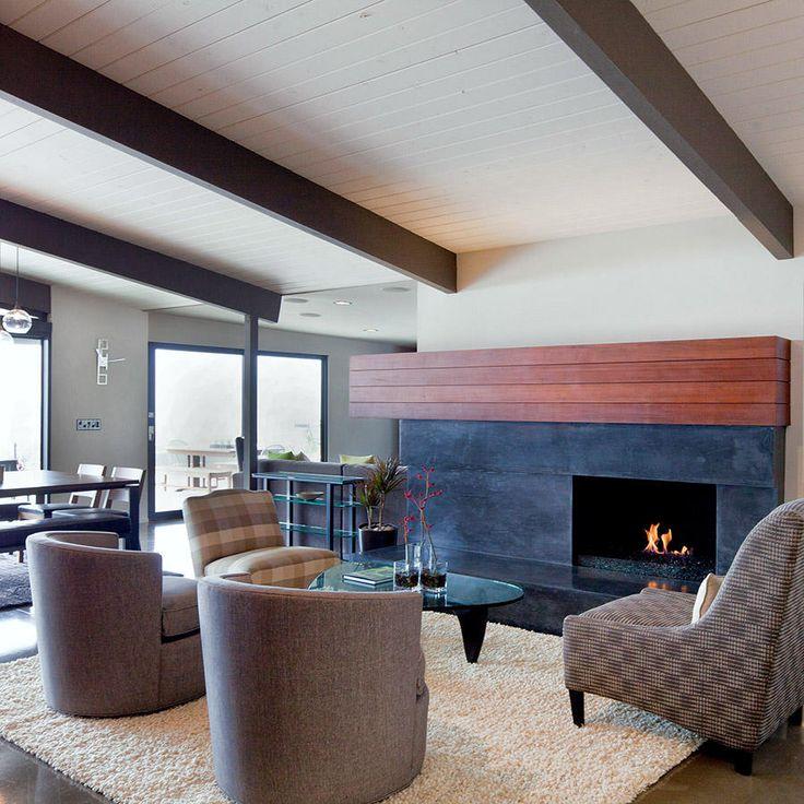 Mid Century Modern Fireplace Design 20 best modern fireplaces images on pinterest | fireplace design