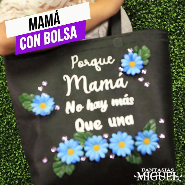 ¡Haz especial tus regalos para mamá con mensajes bonitos y decorados fantásticos. Esta bolsa es un regalo perfecto para ella en su día, sorpréndela! Diy Crafts For Gifts, It Gets Better, Fathers Day, Origami, Birthday, Creative, Handmade, Molde, Costumes