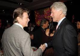 David Bowie & Bill Clinton