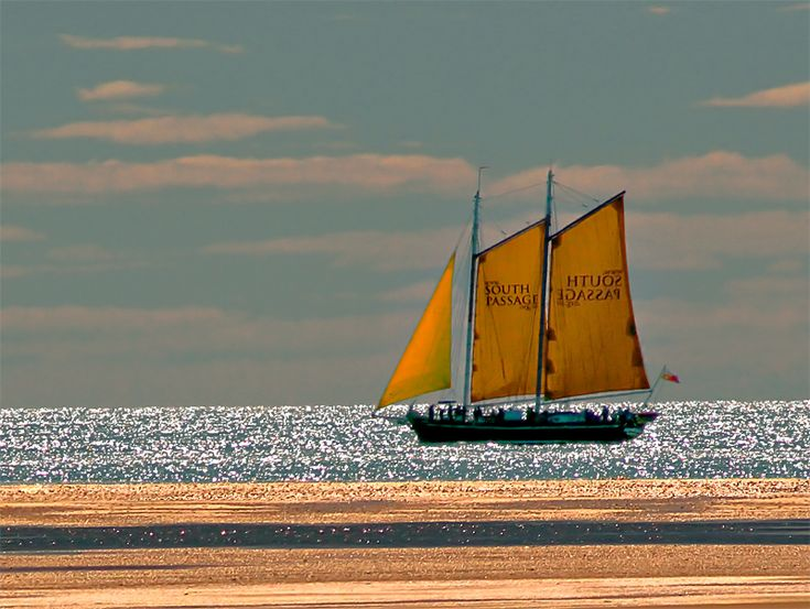 Sailing on crystals