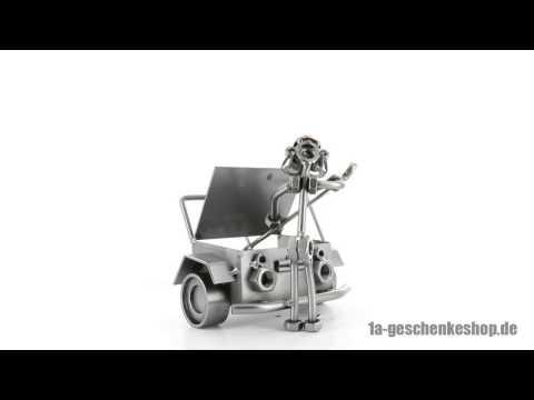 Schraubenmännchen Automechaniker