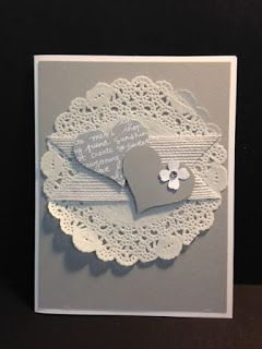 For the New Two, Wedding Card, Anniversary Card, Stampin' Up!, Rubber Stamping, Handmade Cards, Stamp a Stack