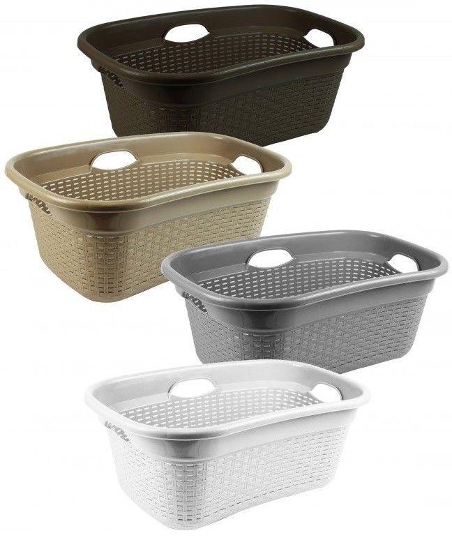 Details About Laundry Basket 50 Litre Hipster Laundry Basket
