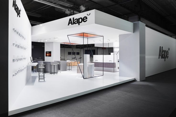 Alape : Minimal Architectural Exhibition - Grids And Layers