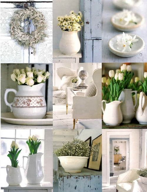 Moodboard spring whites