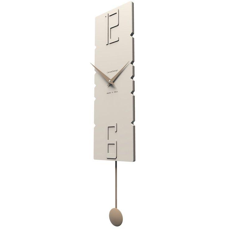 Reloj de pared Rock de CalleaDesign. Carta de colores pastel para elegir sorprendente y elegante. Estructura en madera DM. ¡Rockanrolea tus horas!