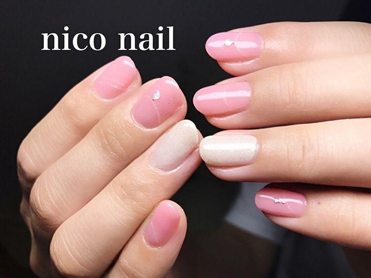 浜松市 中区 自宅ネイルサロン nico nail ニコネイル:上品なネックレスネイル