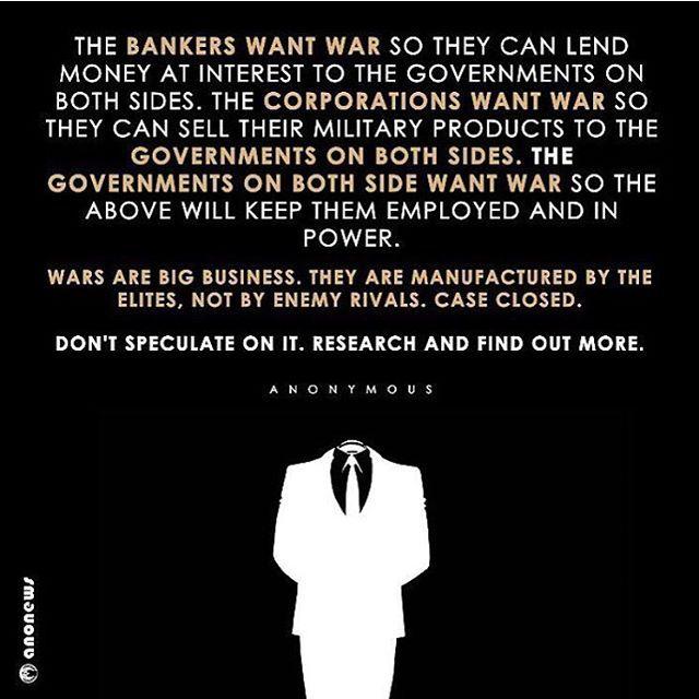 war is big business