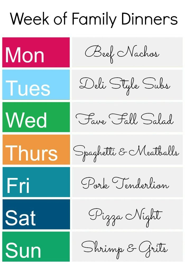 The 226 best images about Meal planning on Pinterest Menu - meal calendar
