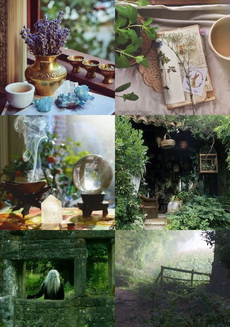 "positivelypagan: "" Cottage Witch Aesthetic """