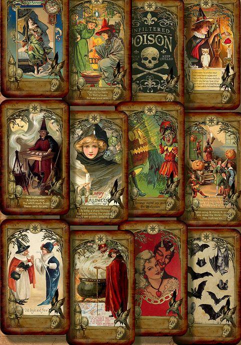 Samhain Treat Deck - Tarot by 7 -- If you love Tarot ...