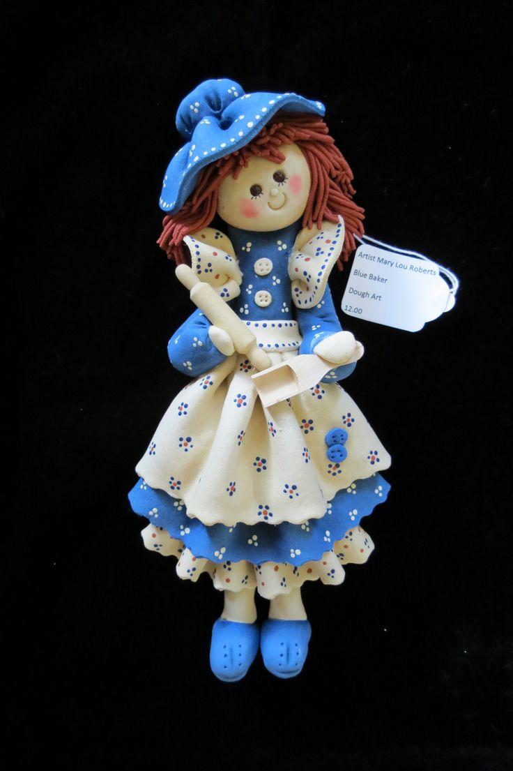 Baker Dough Art Doll