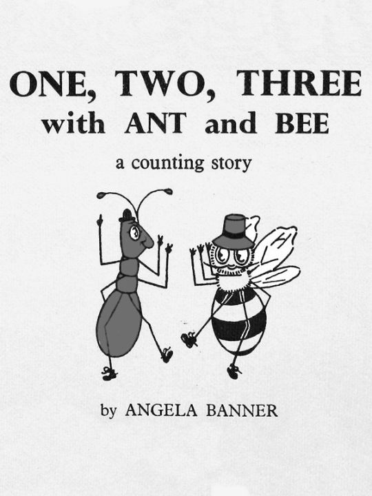 Kindle 4 Screensaver: One, Two, Tree with Ant and Bee