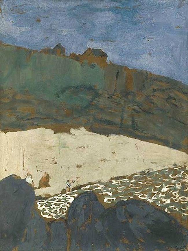 Edouard Vuillard (French, 1868-1940), La maison dans la dune