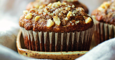 You'll love these banana walnut muffins with no gluten, no dairy, and no refined sugar.