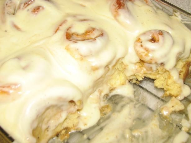 Copycat Cinnabon' for the Bread Machine w/ vanilla pudding
