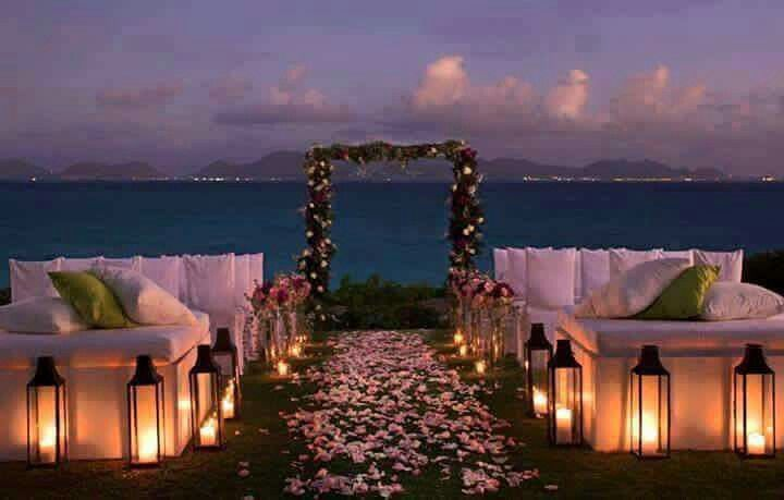 17 Best Images About Caribbean Weddings Ideas For Brides: 17 Best Ideas About Night Beach Weddings On Pinterest