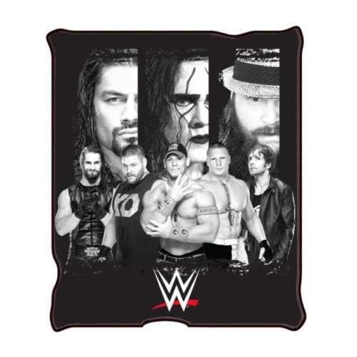 WWE-New-All-Stars-Fleece-Throw-Blanket-50-x-60-034-Staring-By-Jhon-Cena